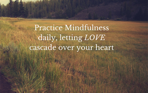 Mindfulness: Step one in lasting change