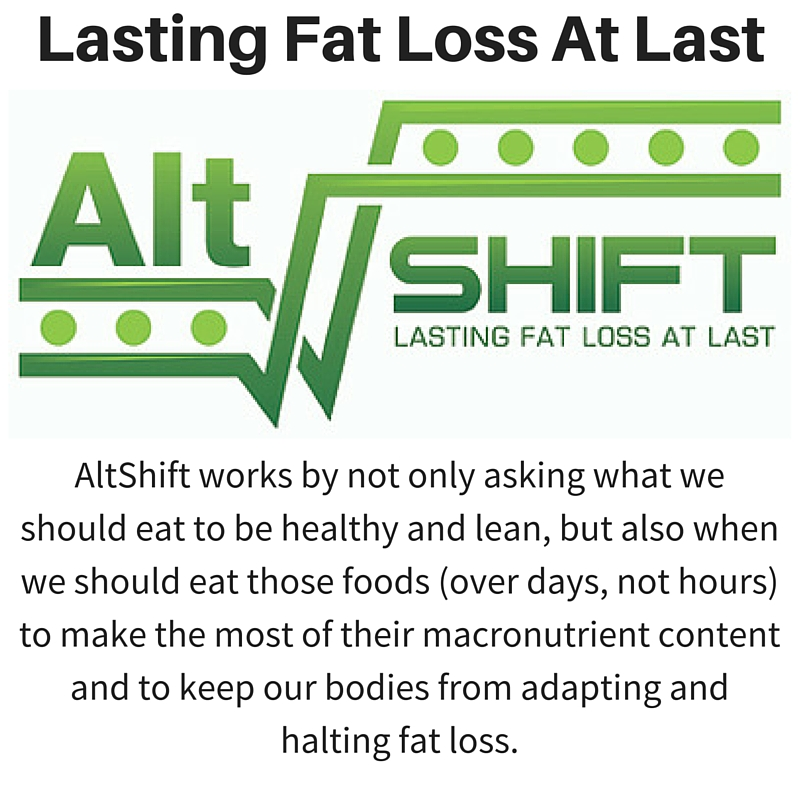 Lasting Fat Loss At Last