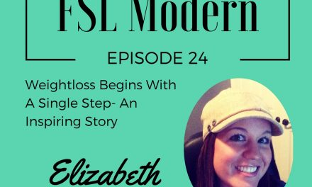 Weightloss Begins With A Single Step- Elizabeth Benton's Inspiring Story, Episode 024