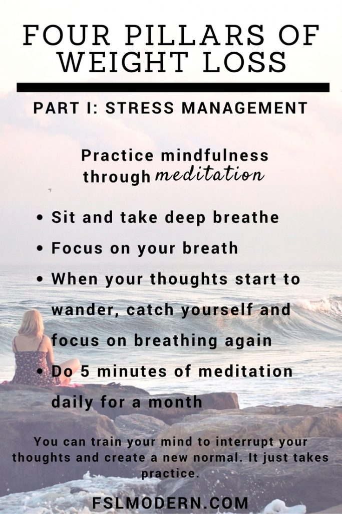 Four Pillars - stress management