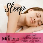 The Four Pillars of Weight Loss- Part II, Prioritizing Your Zzzs with Jason Seib, Episode 027