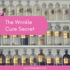 The Wrinkle Cure Secret