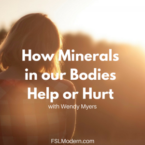 How Minerals in our Bodies Help or Hurt