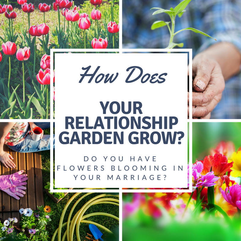 How does your relationship garden grow?