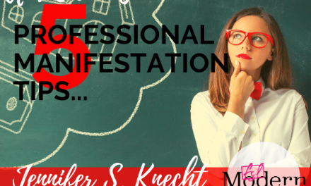 Professional Manifestation Tips